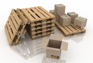 Pallets Boxes Packages